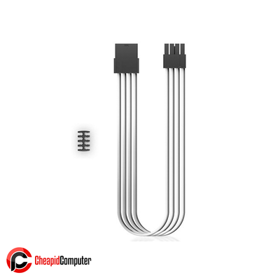 Cables Deepcool EC300-CPU8P-WH CPU 8 Pin 18AWG 300mm - White