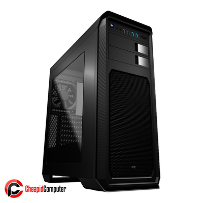 Casing Aerocool AERO-800 Window Mid-Tower Black