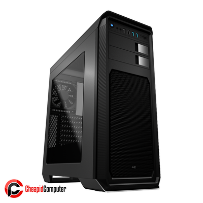 Casing Aerocool AERO-800 Window Mid-Tower Grey