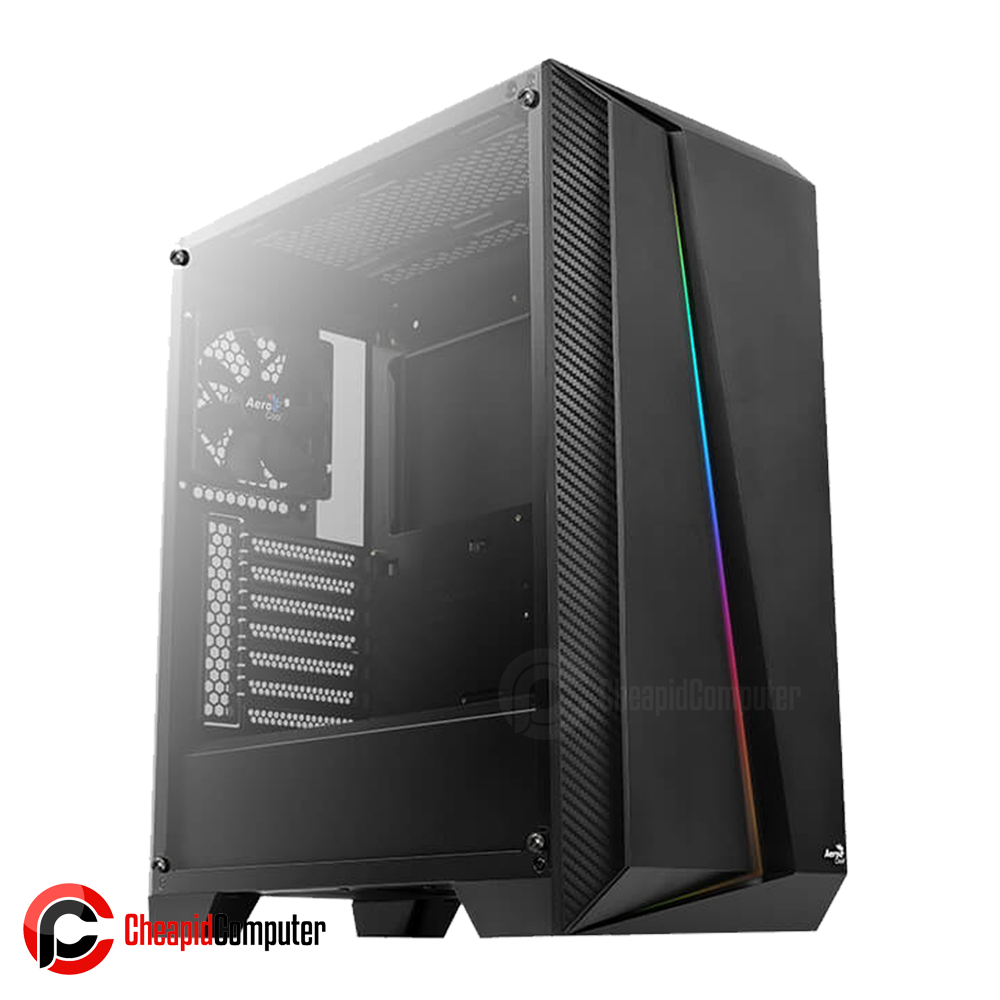 Casing Aerocool Cylon Pro Mid-Tower RGB Tempered Side