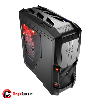 Casing Aerocool GT-S Black Edition Full Tower