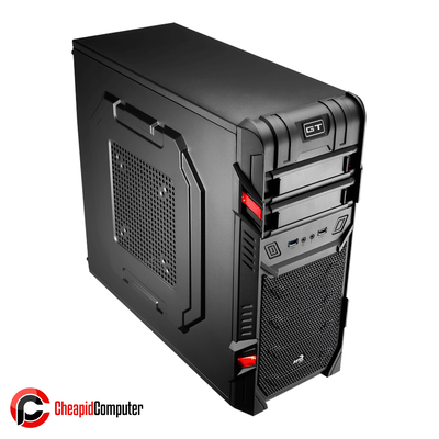 Casing Aerocool GT Advance Black Edition Mid-Tower