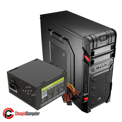 Casing Aerocool GT USB3.0 Mid-Tower Gaming with VX-500W PSU