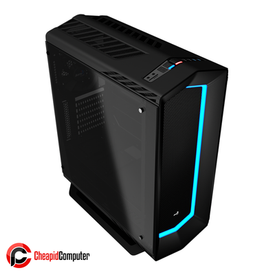 Casing Aerocool P7-C1 Tempered Glass Mid-Tower with P7-H1
