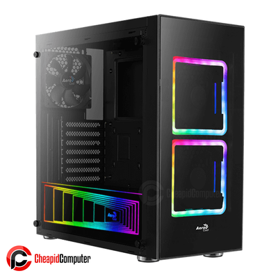 Casing Aerocool Tor Mid-Tower RGB Tempered