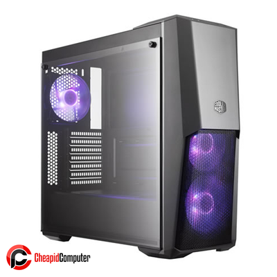 Casing Cooler Master MasterBox MB500 TUF Gaming Edition Steel Tempered Glass