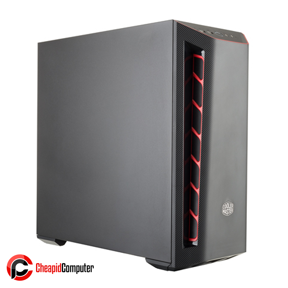Casing Cooler Master MasterBox MB501L Steel Red Trim