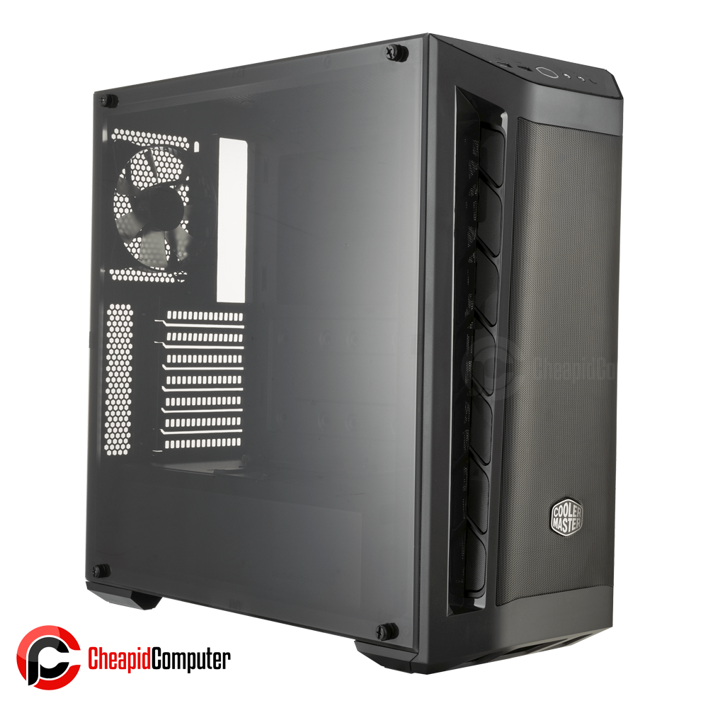Casing Cooler Master MasterBox MB511 Black Mid-Tower (MCB-B511D-KANN-S01)