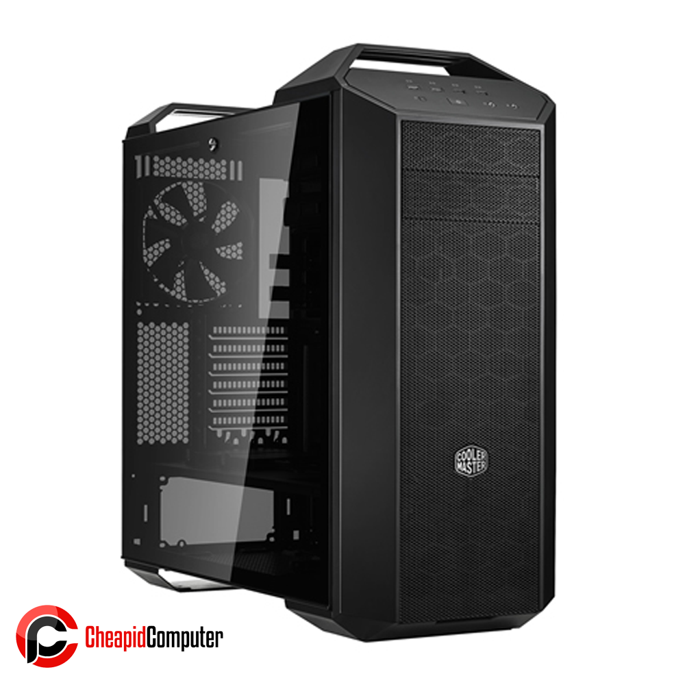 Casing Cooler Master MasterCase MC500 Steel Plastic Tempered Glass