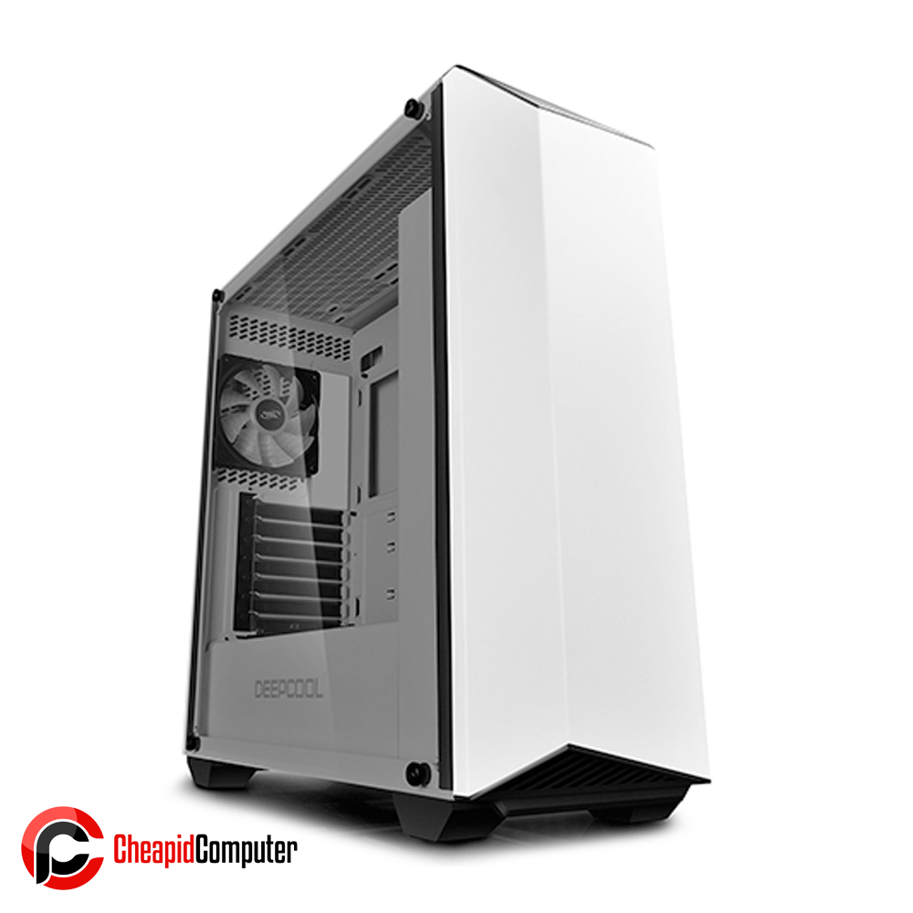 Casing Deepcool Earlkase RGB WH E-ATX Tempered Glass