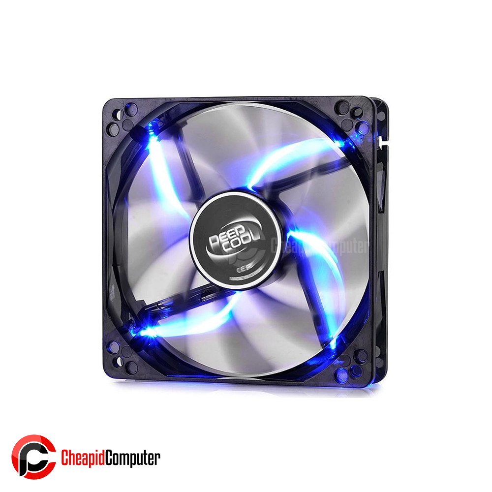 Cooler Fan Deepcool Wind Blade 80 80mm LED Blue
