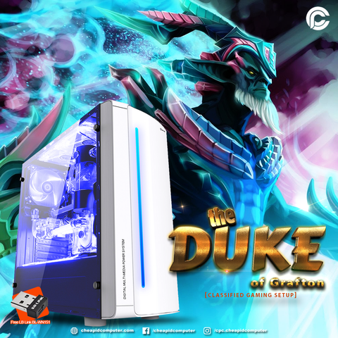 The Duke of Grafton Gaming Package - Intel Core i3-9100F