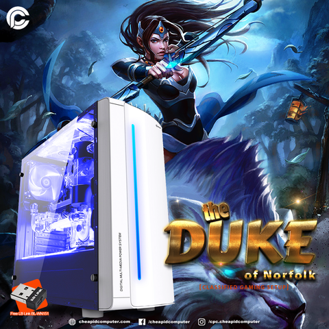 The Duke of Norfolk Gaming Package - Intel Core i5-9400F