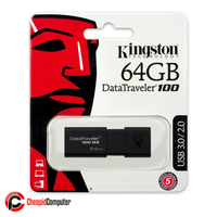 Flash Drive Kingston 64GB USB 3.0