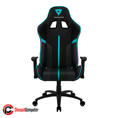 Furnitures Gaming Chair ThunderX3 BC3 Black/Cyan