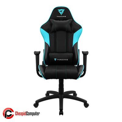 Furnitures Gaming Chair ThunderX3 EC3 Black/Cyan