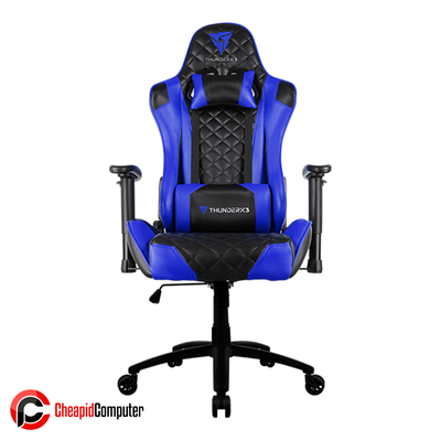Furnitures Gaming Chair ThunderX3 TGC12 Black-Blue Race Cushion V1