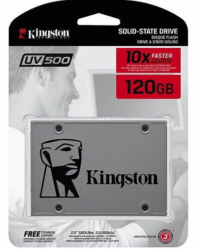 Solid State Drive Kingston SSDNow UV500 120GB Sata
