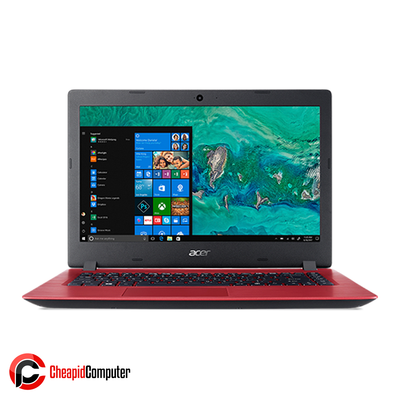 Laptop Acer Aspire 3 A314-32-P2MA Oxidant Red Pentium N5000 4GB DDR4 500GB HDD 14 Inch Win10