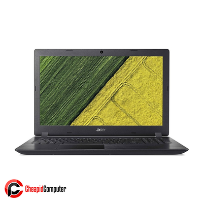Laptop Acer Aspire 3 A314-32-P2QG Shale Black Pentium N5000 4GB DDR4 500GB HDD 14 Inch Win10