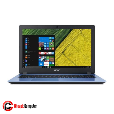 Laptop Acer Aspire 3 A314-41-9649 Stone Blue AMD A9-9420e 4GB DDR4 1TB HDD 14 Inch Win10