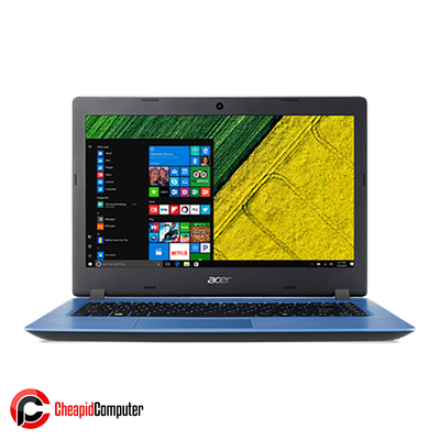 Laptop Acer Aspire 3 A315-53-38QP Stone Blue Core i3-7020U 4GB DDR4 1TB HDD 14 Inch Win10
