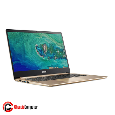 Laptop Acer S1 SF114-32-P3VY Luxury Gold Pentium N5000 4GB DDR4 128GB SSD 14 Inch Win10