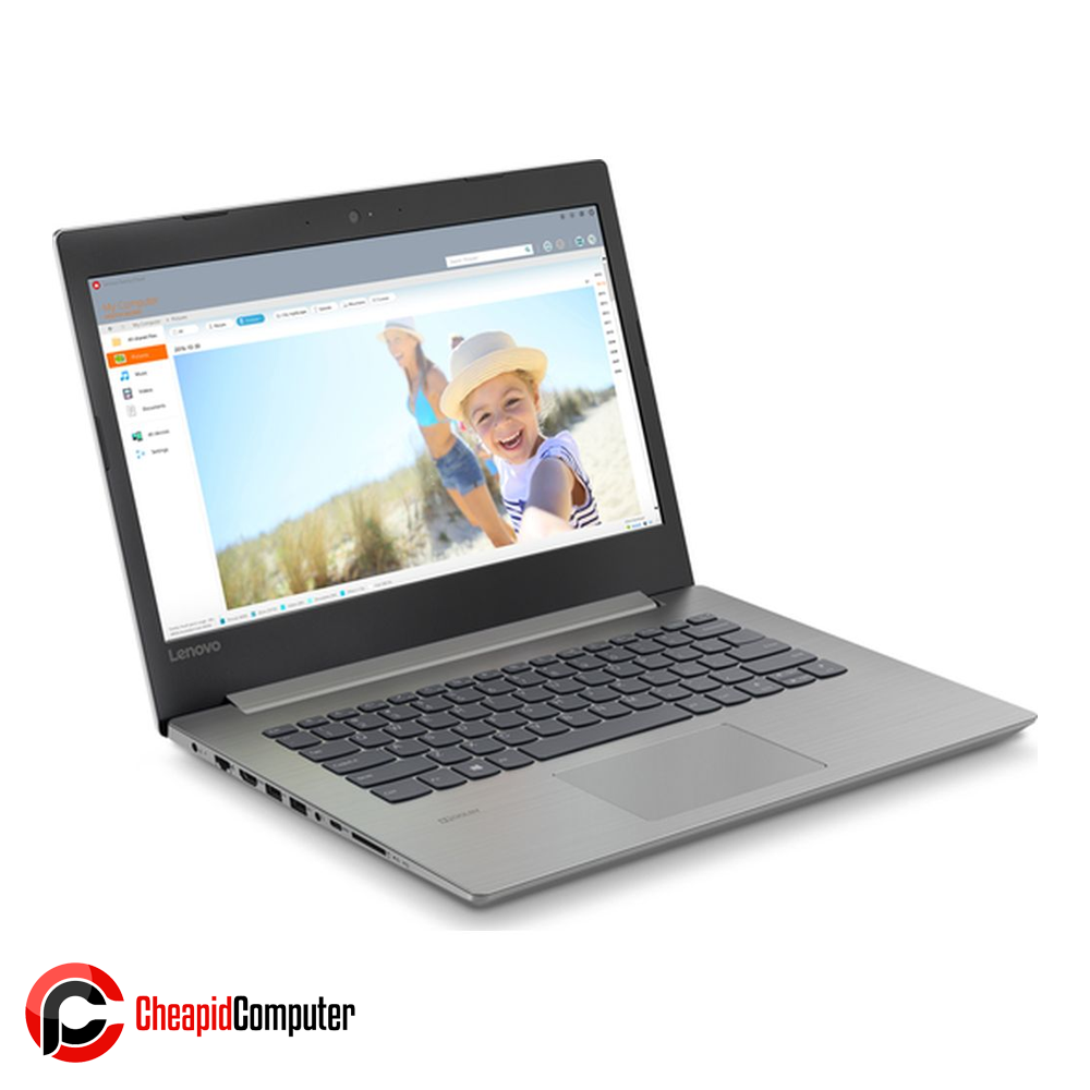 Laptop Lenovo 330-14IGM Platinum Grey Celeron N4000 4GB DDR4 500GB HDD 14 Inch Win10 (81D0001TPH)