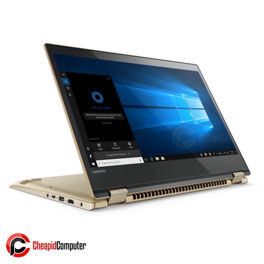 Laptop Lenovo Yoga 520-14IKB Gold Core i5-8250U 4GB DDR4 1TB HDD 14 Inch GeFore 940MX 2GB Win10 (81C8003YPH)
