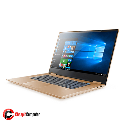 Laptop Lenovo Yoga 520-14IKB Gold Metalic Core i5-8250U 4GB DDR4 1TB HDD 14 Inch Win10 (81C800NPPH)