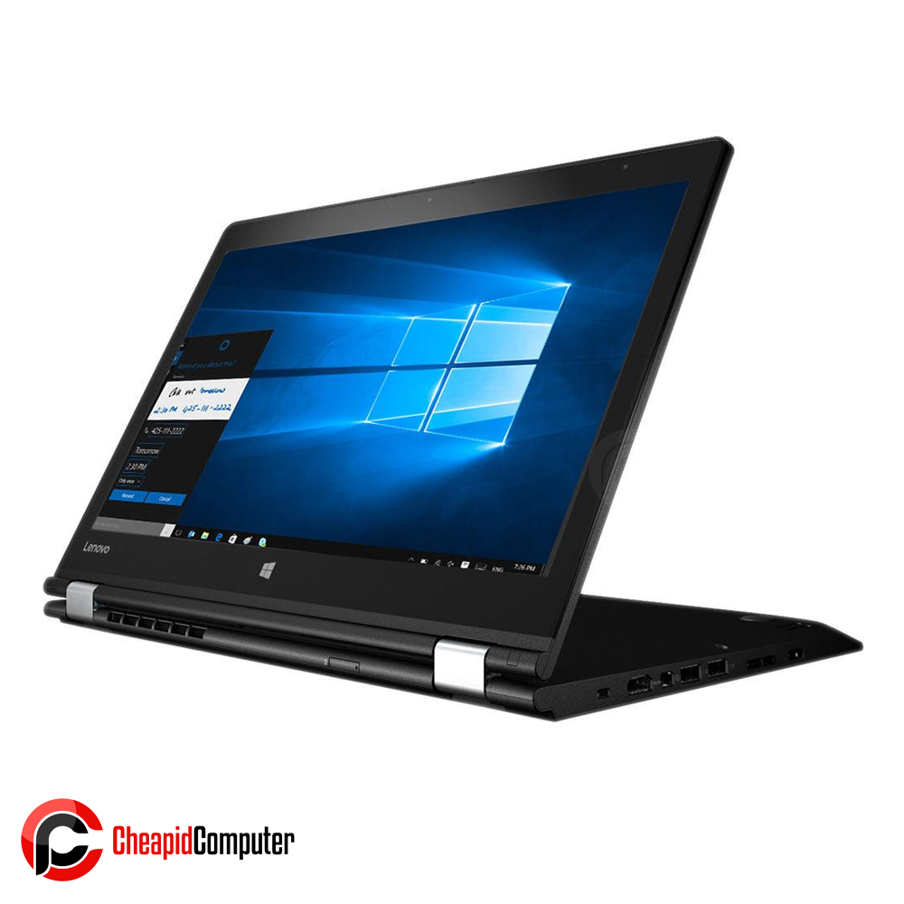 Laptop Lenovo Yoga 520-14IKB Onyx Black Core i5-8250U 4GB DDR4 1TB HDD 14 Inch GeFore 940MX 2GB Win10 (81C80041PH)