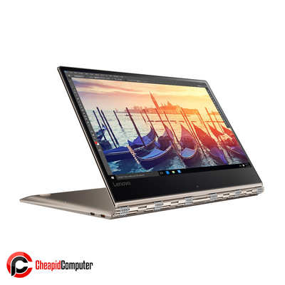 Laptop Lenovo Yoga 910-13IKB Champagne Gold Core i7-7500U 8GB DDR4 256GB SSD 13.9 Inch Win10 (80VF00G2PH)