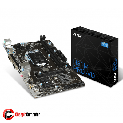 Motherboard 1150 MSI H81M Pro-VD DDR3