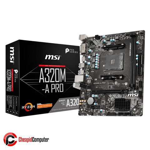 Motherboard AM4 MSI A320M-A Pro DDR4
