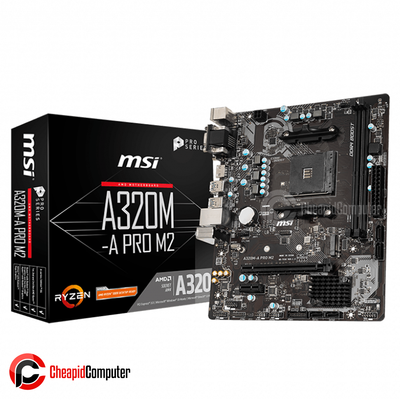 Motherboard AM4 MSI A320M-A Pro M2 DDR4