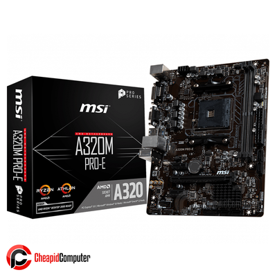 Motherboard AM4 MSI A320M Pro-E DDR4