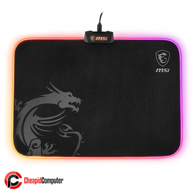 Mousepad MSI Agility GD60 RGB LED Micro-textured Cloth Surface