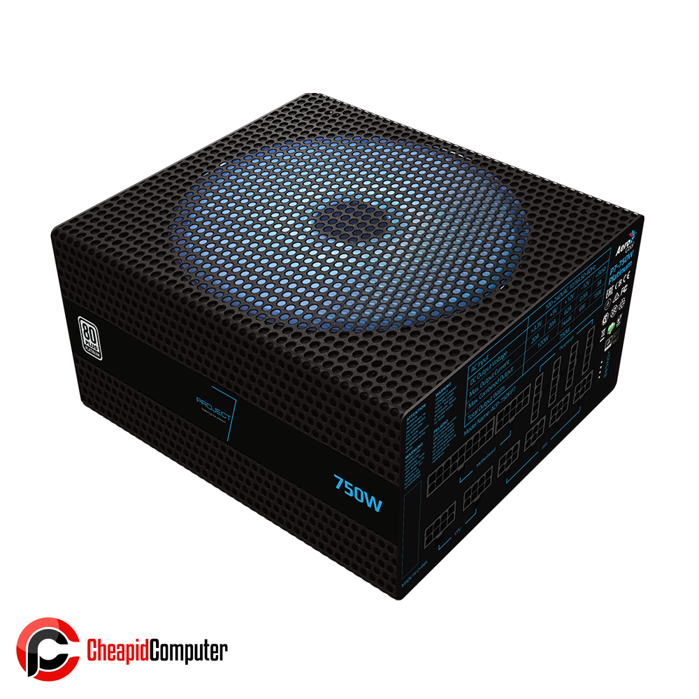 Power Supply Aerocool P7-750W Platinum 750W 80+ Full Modular RGB