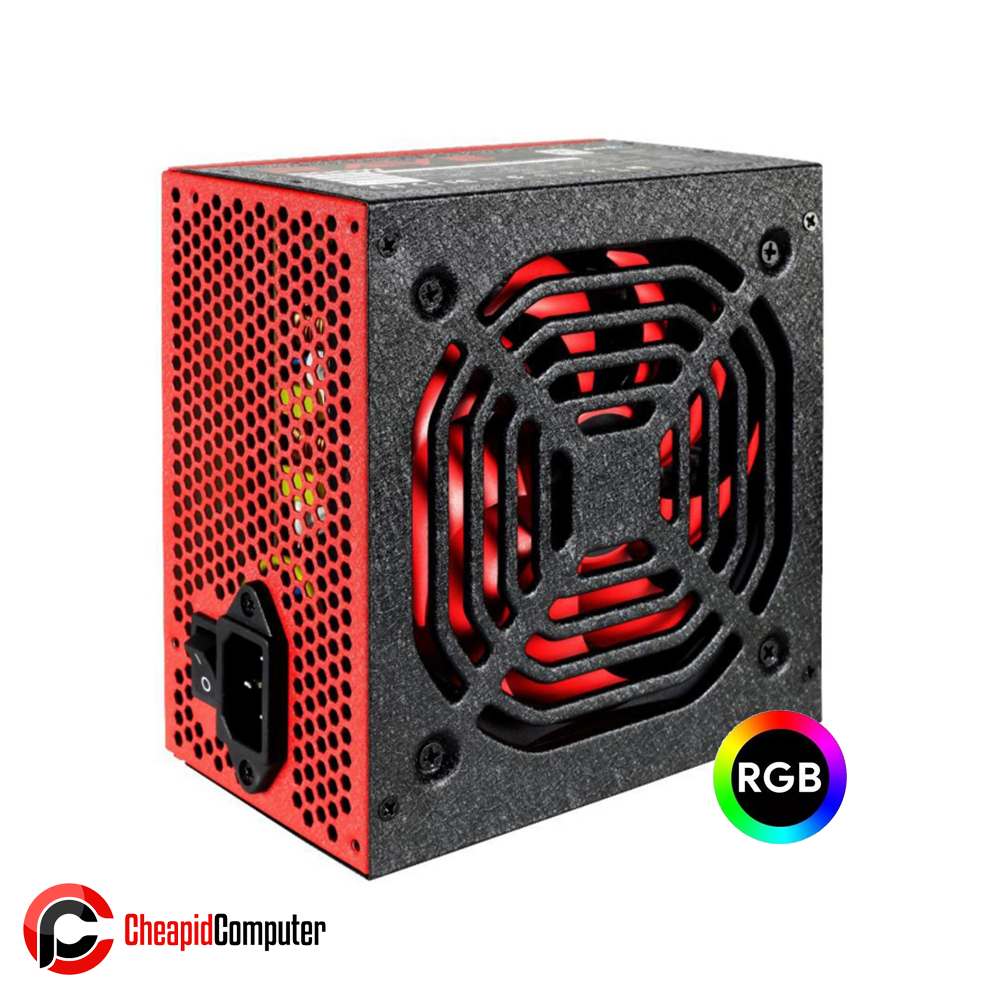Power Supply Aerocool Rave 600W RGB 80+