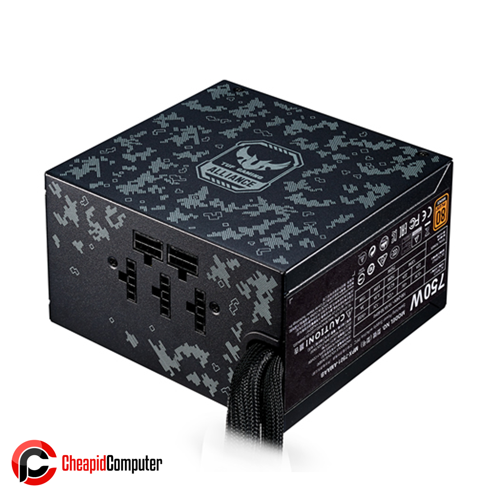Power Supply Cooler Master MasterWatt 750 TUF Gaming 750W Semi-Modular