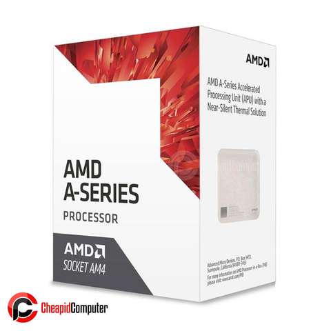 Processor AM4 AMD A8-9600 7th Gen 3.1GHz Quad Core