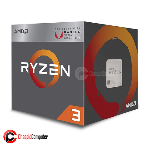 Processor AM4 AMD Ryzen 3 2200G 3.5Ghz Quad Core