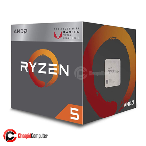 Processor AM4 AMD Ryzen 5 2400G 3.6Ghz Quad Core