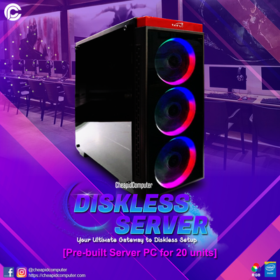 CPC Diskless Server [Good for up to 20 units]