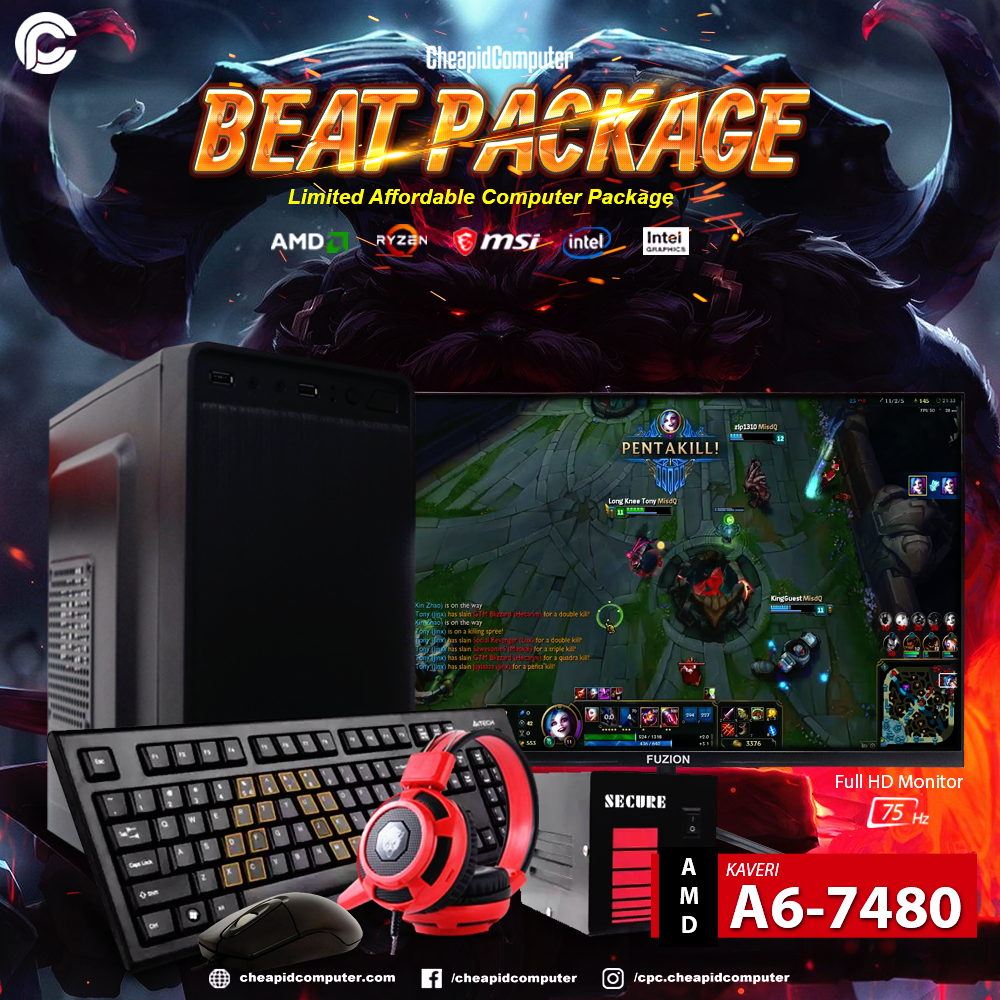 Beat Package - AMD Kaveri A6-7480