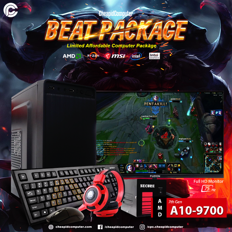 Beat Package - AMD A10-9700 7th Gen