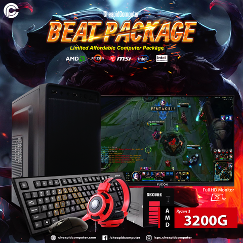 Beat Package - AMD Ryzen 3 3200G