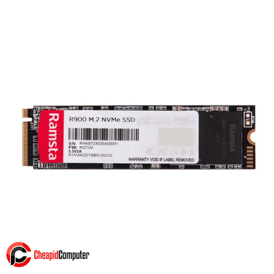 Solid State Drive Ramsta R900 512GB NVMe M.2