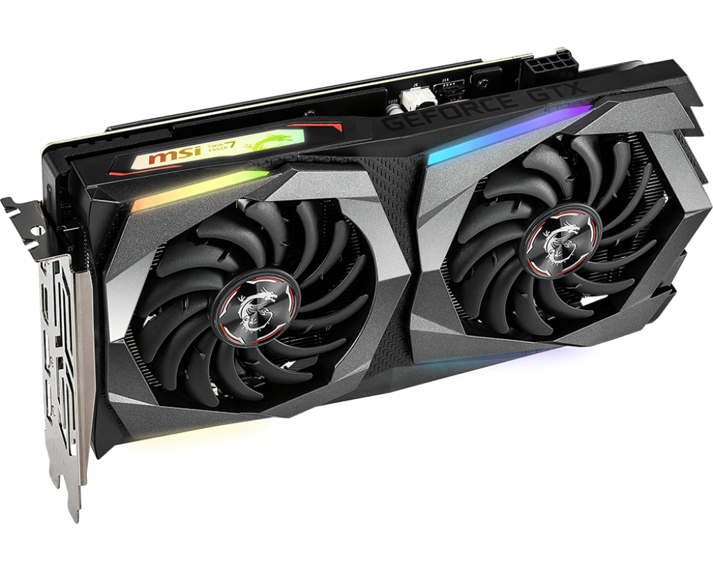 Video Card MSI GeForce GTX 1660 Ti Gaming X 6G 6GB GDDR6 192bit