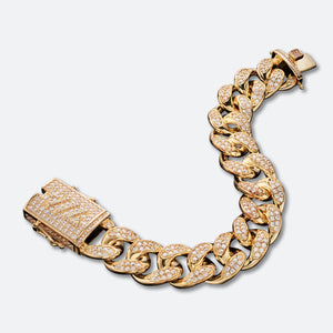 Cuban ICE Bracelet 19mm